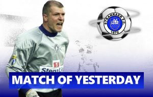 Match of Yesterday: Barney Duffy