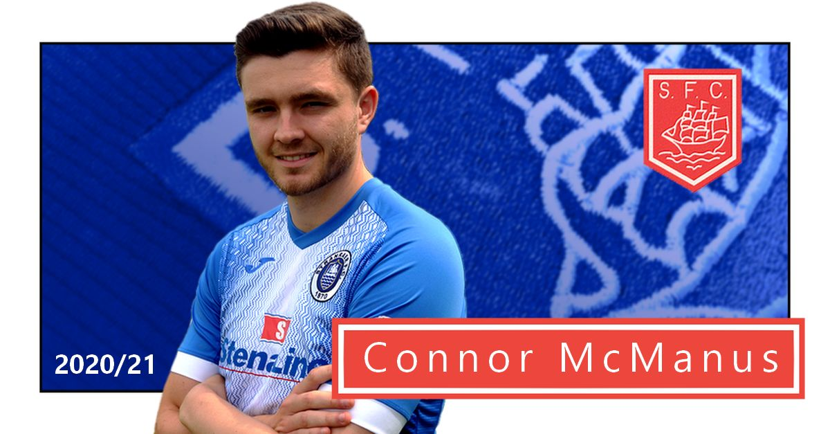 Connor commits for 2020/21