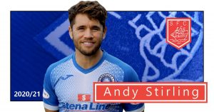 Andy Stirling returns