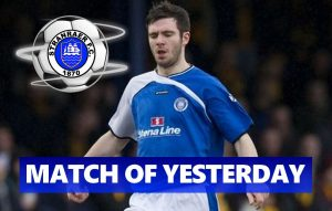 Match of Yesterday: Steven Noble