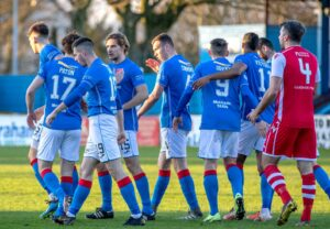 Stranraer 2-2 Stirling Albion