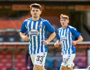 Killie midfielder Taylor signs on