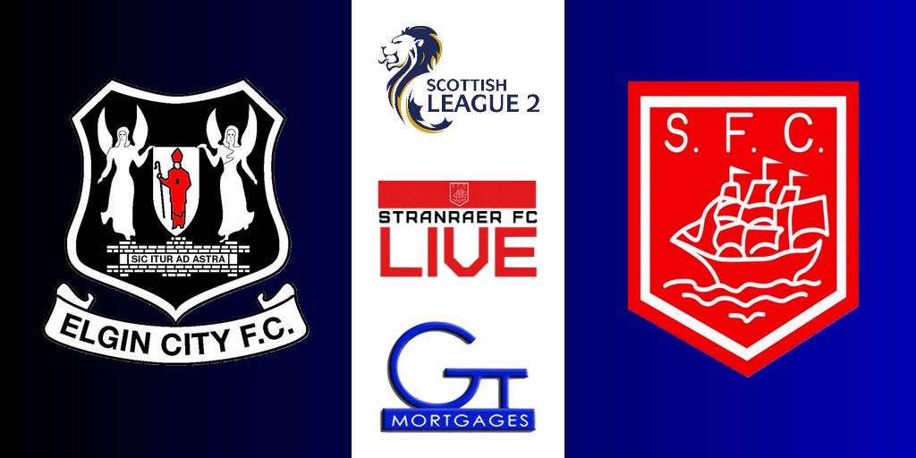 Elgin City 2-1 Stranraer