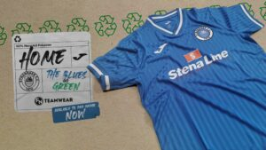 Blues go Green with new home kit